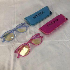 S/2 Blue Light Blocking Reading Glasses